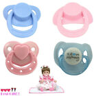 2/4pcs Dummy Pacifier For Reborn Baby Dolls With Internal Magnetic Accessories N