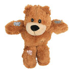 Cute Bear Design Dog Chew Squeaky Plush Toy Pet Bite Resistance Toy
