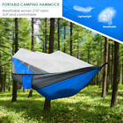 1x Camping Outdoor Mosquito Net Hammock Tent Chair Nylon Hanging Bed Swing New
