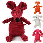 Cute Pet Dog Chew Interactive Squeaker Squeaky Soft Plush Play Sound Teeth Toy