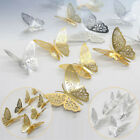 12pcs/set 3d Butterfly Wall Stickers Decal Home Children Room Decoration Decor