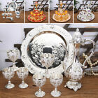 Vintage Style Wine Pot Cups Plate Tray Set For Home Wedding Gift Party Decor
