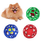FP- Pet Dog Puppy Hollow Bell Tennis Ball Toy Chew Scratch Playing Training Mola