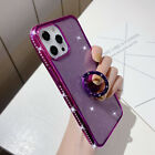 For iPhone 12 Pro Max 11 XS XR 8 Plus 7 6s Bling Diamond Ring Holder Case Cover