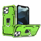 For iPhone 12 11 Pro Max Mini 8 7 XS Magnetic Shockproof Case Ring Holder Cover