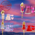 Clothes And Accessories For Barbie Doll 18 Pcs Pajamas Lace Lingerie Night Dress