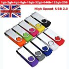 USB 2.0 High Speed Memory Stick Flash Pen Thumb Drive 32GB 64GB 128GB 256 512GB