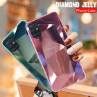 For Samsung S21 Ultra S20 FE A21S Note 20 A51 A71 Diamond Mirror Hard Case Cover