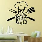 My Kitchen My Rules Vinyl Self Adhesive Wallpaper For Kids Rooms Home Decor