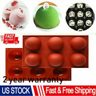 3d 6-holes Half Ball Silicone Chocolate Mold Cake Baking Mold Mousse Bomb Mold