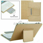 Leather Stand Cover w/ Wireless Keyboard For Lenovo IdeaPad K1 10.1 2011 Tablet