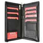 Passport Cover Id Holder Wallet Credit Card Travel Case Rfid 663 (C)