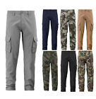 Внешний вид - BFUSA Men's Military Army Cargo Pants Cotton Multi Pocket Tactical Work Trousers