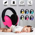 Baby Infant Earmuffs Ear muffs Sleeping Hearing Protection Noise Reducing R