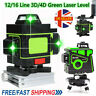 More images of 12 / 16 Line 3D / 4D 360-� Rotary Green Laser Level Self Leveling Cross Measure Tool