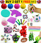 New Fidget Toys Set Sensory Tools Bundle Stress Relief Hand Kids Adults ADHD Toy
