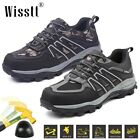 Men's Steel Toe Anti Slip Anti Puncture Construction Hiking Safety Work Shoes 12
