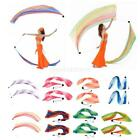 1 Pair 100 Polyester Veil Poi Throw Balls Scarf Belly Dance Yoga Dancing Props