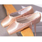 Satin Pointe Shoes for Girls and Ladies Professional Ballet Dance Shoes with