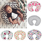 U-Shape Nursing 0-12M Newborn Infant Baby Breastfeeding Pillow Cover Slipcover A