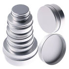 5-150ML Metal Silver Portable Tin Box Round Storage Container Jewelry Candy