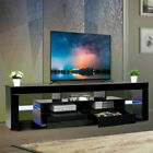 """65"""" Modern TV Stand Cabinet Console Unit with LED Light Entertainment Center"""