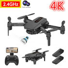 2021 New RC Drone 4K Wide Angle Camera WIFI FPV Drone Dual Camera Quadcopter Toy