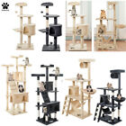 Cat Tree Kitten Scratching Post Activity Centre Climbing Tower Play House