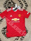 Maillot Jersey Manchester United Home 2021 Adidas Football Player premier league