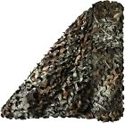 3D Maple Camo Netting Blinds Great for Sunshade Camping Hunting Party Decoration