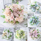 13 Heads Silk Peony Artificial Flowers Fake Bouquet Wedding Home Party Decor