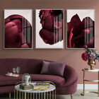 Home Hanging Decor Print Paper Canvas Wall Art Rose Floral ( 3 Sets ) Poster