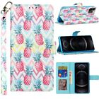 For Cricket Influence Wallet ID Money Card Holder Case Phone Cover