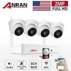 Camera System Wireless Home Security Outdoor Audio 1080P 8CH WIFI NVR 1TB HDD IR
