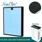 True H13 HEPA Replacement Carbon Filter for SimPure Large Room Air Purifier HP8