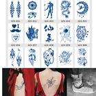 15PCS Fake Temporary Tattoos Sticker Rose Flower Arm Shoulder Tattoo Waterproof