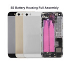 For iPhone 5/5s/se Replacement Back Glass Housing Battery Cover Frame Assembly