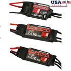 20,30,40A Brushless Speed Controller ESC BEC RC Airplane Quadcopter Helicopter-