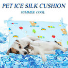 Cooling Mats For Pet Dog Bed Washable Waterproof Summer Pad Ice Silk Cushion