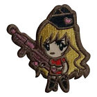 MORTHOME M Tactical Girl Warrior 3D Tactical Military Badges Embroidered Patch