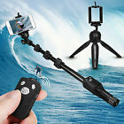 Extendable Bluetooth Selfie Stick Monopod Tripod Remote iPhone for Samsung