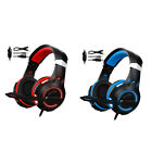 LED Colorful Over Ear Gaming Headset With Microphone Headset for Gamer