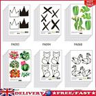 6pcs Diy Funny Kids Baby Room Home Decoration Wall Decals Kitchen Wall Stickers