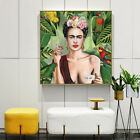 Home Decor Print Paper Canvas Wall Art Self Portrait By Frida Kahlo Poster