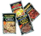 Attention CHILI LOVERS-Williams Chili Seasoning Mixes