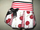 NEW Mini Girls Black,Red,White Cherry,Check Skirt,Hippy