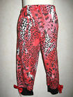 NEW Goth,Punk Baby Black,Red  leopard,Leggings,Trousers