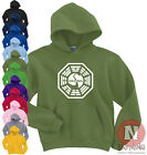 Dharma Initiative swan logo Lost TV series hoodie hoody
