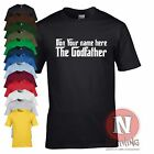 Custom personalised classic Godfather movie T-shirt