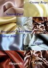 4 pcs 100% silk bed sheet set flat fitted pillowcases Deep Pocket image